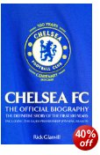 Get 40% off Chelsea FC: The Official Biography at Amazon UK