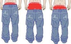 Jeans Sagging