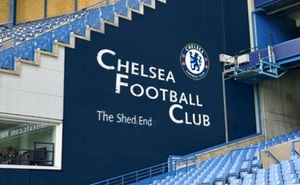 New Shed End mural