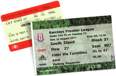 Stoke tickets