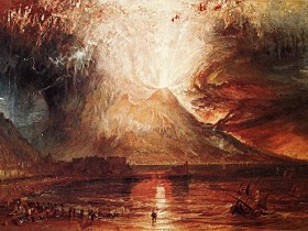 Mount -Vesuvius in Eruption 1817 by William Turner