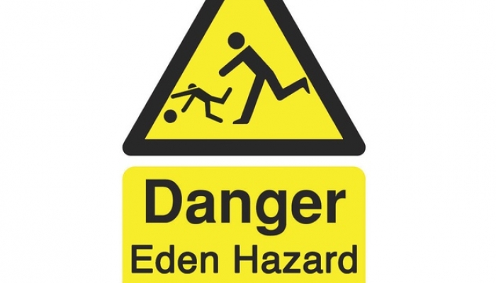 Danger! Eden Hazard