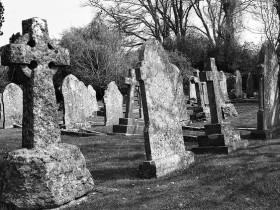 Corfe Castle cemetery