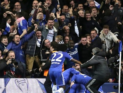 Permanent Link to Chelsea 2-0 Paris Saint-Germain (3-3 on agg) - Glory Again?