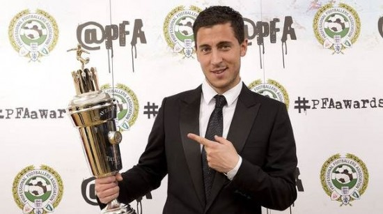 Eden Hazard PFA Player of the Year 2014/15