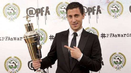Eden Hazard PFA Player of the Year 2014/15