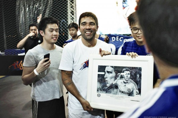 Deco at the CFC Official Singapore Supporters Club